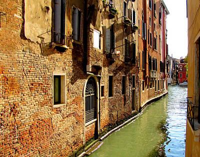 Venice Art Print by Barbara Walsh