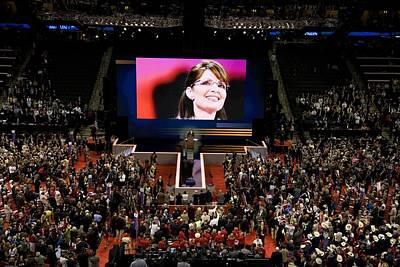 2008 Election Photograph - Vice Presidential Candidate Sarah Palin by Everett
