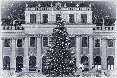 Christmas Market Photograph - Viennese Christmas Wonderland by Joan Carroll