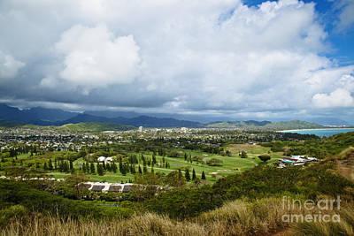 View Of Kailua, Oahu, Hawaii Art Print by Inti St. Clair