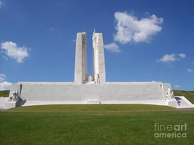 Photograph - Vimy Ridge 1 by Mary Mikawoz