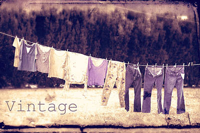Photograph - Vintage by Gray  Artus