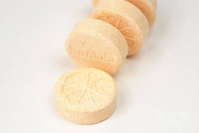 L-ascorbic Acid Photograph - Vitamin C by Photo Researchers, Inc.