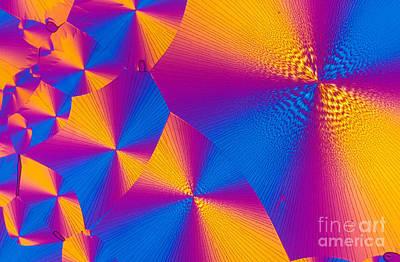 Photograph - Vitamin H Crystal by Michael W Davidson