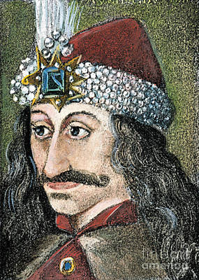Photograph - Vlad IIi (1431-1477) by Granger