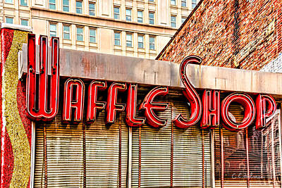 Waffle Shop Art Print by Christopher Holmes