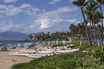 Photograph - Wailea Beach Maui Hawaii by Sharon Mau