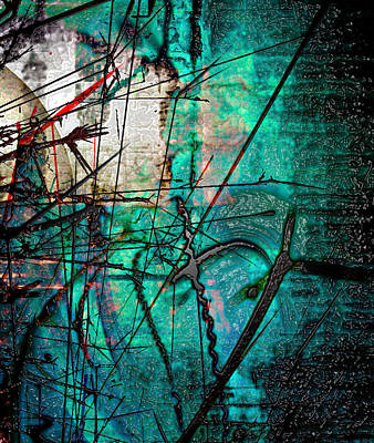 Waiting In Line Print by Empty Wall