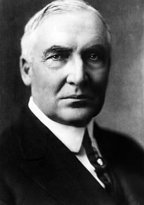 Warren G. Harding 1865-1923, United Print by Everett