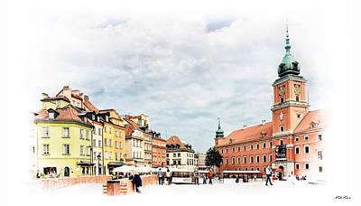 Warsaw's Castle Square Original