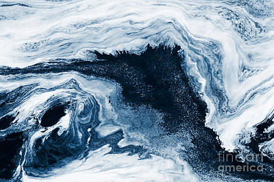 Water Abstraction Print by Iryna Shpulak