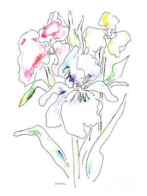 Painting - Watercolor Flower Paintings 1 by Gordon Punt