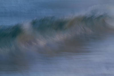 Photograph - Wave Abstract by Roger Mullenhour