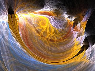 Apophysis Photograph - Wave by Michele Caporaso