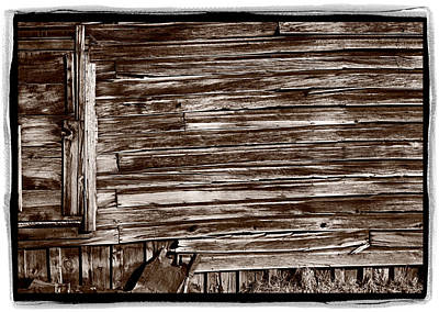 Weathered Wall In Bodie Ghost Town Original by Steve Gadomski
