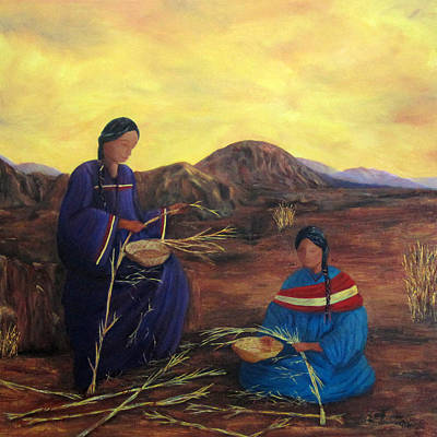 Painting - Weavers by Roseann Gilmore