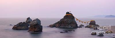 Iwa Photograph - Wedded Rocks Of Futami by Jeremy Woodhouse