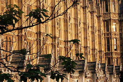 Photograph - Westminster Abbey At Sunset by Harvey Barrison