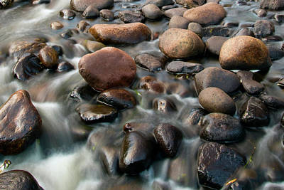 Photograph - Wet Rocks by Steve Stuller