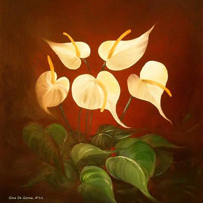 Owls - White Promises by Gina De Gorna