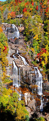 Photograph - Whitewater Falls by Alan Lenk