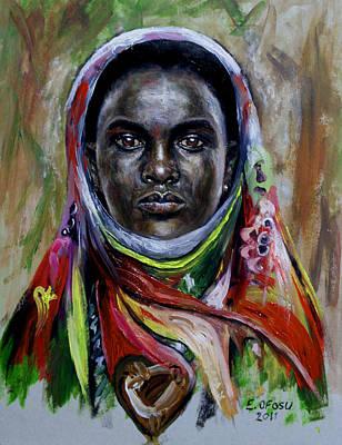 who am I Art Print by Edward Ofosu