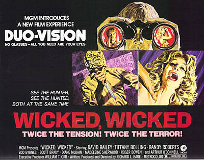 Wicked, Wicked, Top And First From Left Art Print by Everett