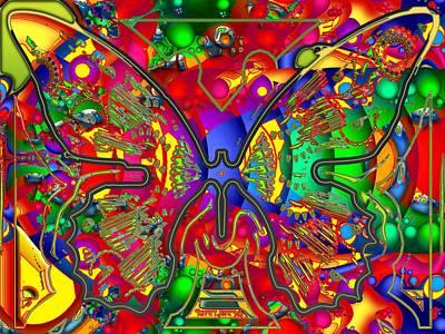 Multicolor Abstract Digital Art - Wild Child by Robert Orinski