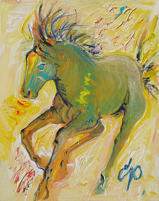 Wildish Mane Art Print