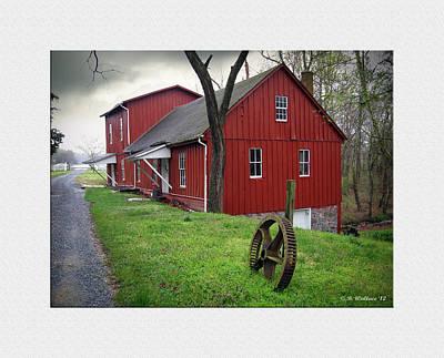 Williston Mill Art Print by Brian Wallace