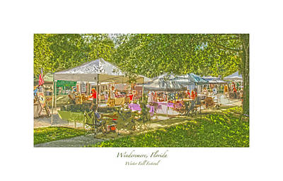Windermere Fall Festival Art Print
