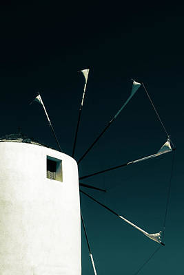 Windmill Art Print by Joana Kruse