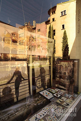 Photograph - Window Reflection  by Igor Kislev