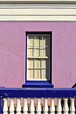 Windows Of Bo-kaap Art Print by Benjamin Matthijs