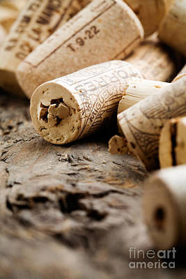 Photograph - Wine Corks by Kati Finell