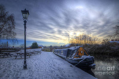 Photograph - Winter At The Boat Inn by Yhun Suarez
