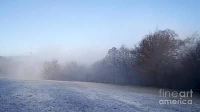 Winter Landscape Art Print by Odon Czintos