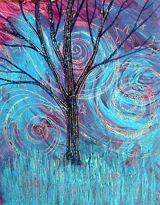 Painting - Winter's Night by Monica Furlow