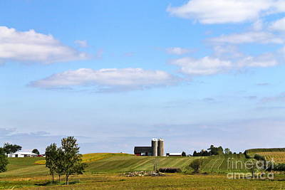 Photograph - Wisconsin Scene 2 by Pamela Walrath