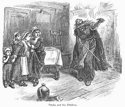 Witch Trial: Tituba, 1692 Art Print by Granger