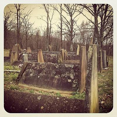 Horror Photograph - Witches Cemetery by Susannah Mchugh