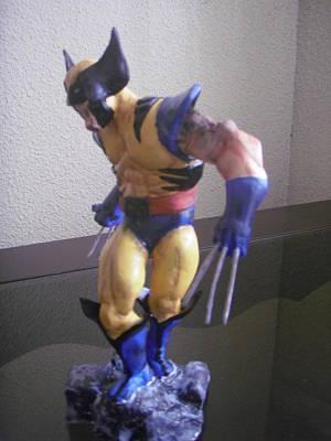 Sculpture - Wolverine by Luis Carlos A