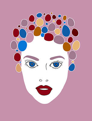 Woman In Fashion Art Print