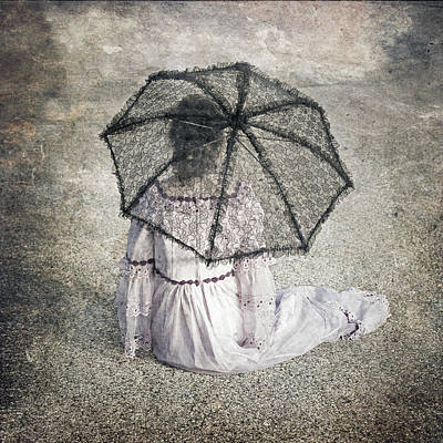 Lace Photograph - Woman On Street by Joana Kruse