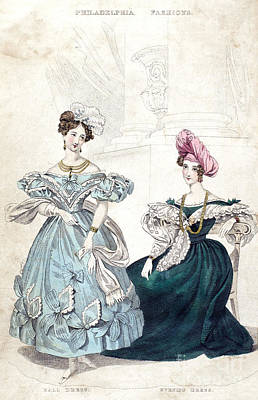 Womens Fashion, 1833 Art Print by Granger