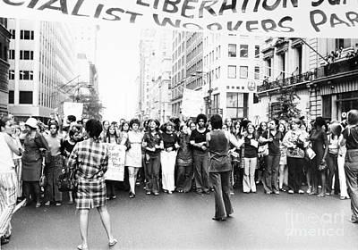 Womens Rights, 1970 Art Print by Granger