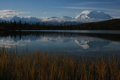 Wonder Lake Denali National Park Art Print