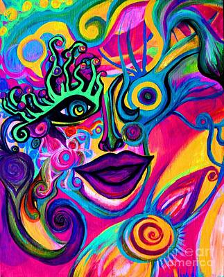 Wonkey Art Print by Joy Tagliavia