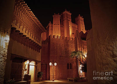 Photograph - World Showcase - Morocco Pavillion by AK Photography