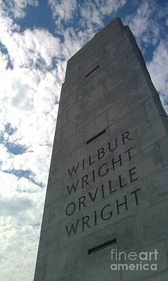 Wright Brothers Memorial Art Print